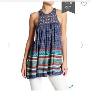 Free people rare hearts tunic
